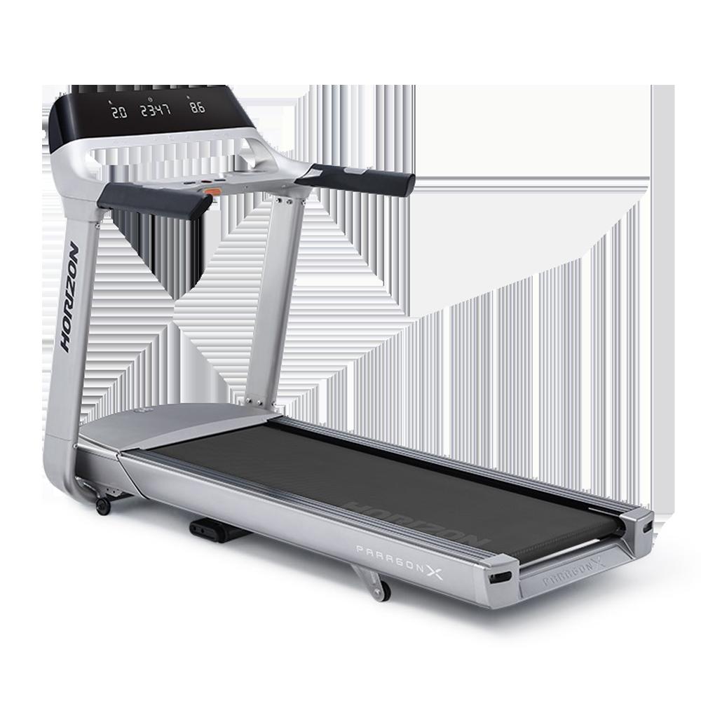 Paragon X Trial run treadmill