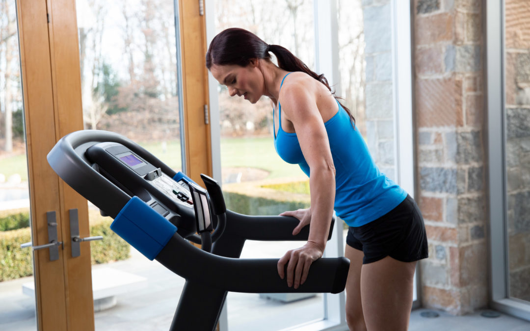 Match your training goals to a treadmill