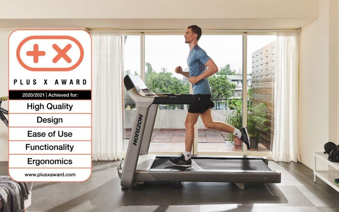 Horizon Fitness treadmills win Plus X Awards